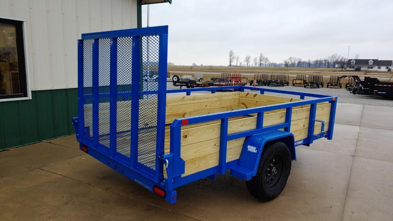 2019 Sure-trac 6x10 Tube Top 3 Board 3k Blue