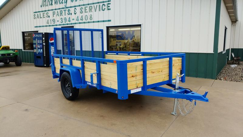 2019 Sure-trac 6x10 Tube Top 3 Board 3k Blue
