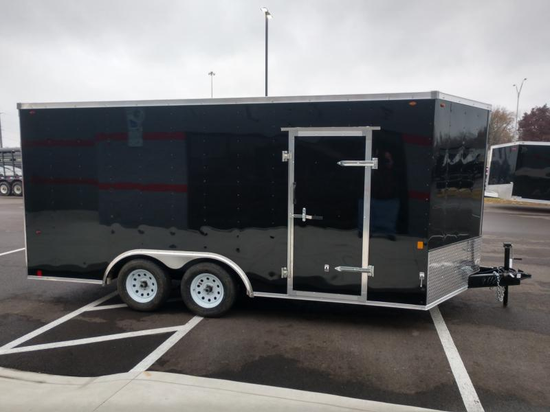2019 Interstate 8.5'x16' Enclosed 7k