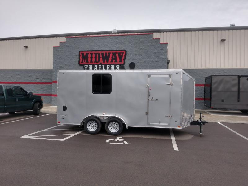 """2019 Stealth 7'x16' +6"""" Height Enclosed"""