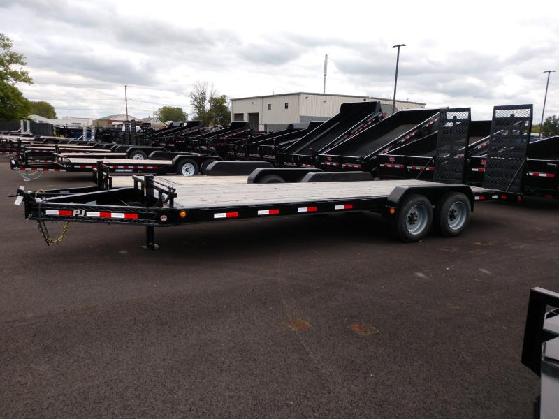 2019 Pj Trailers 7'x22' Equipment 20k