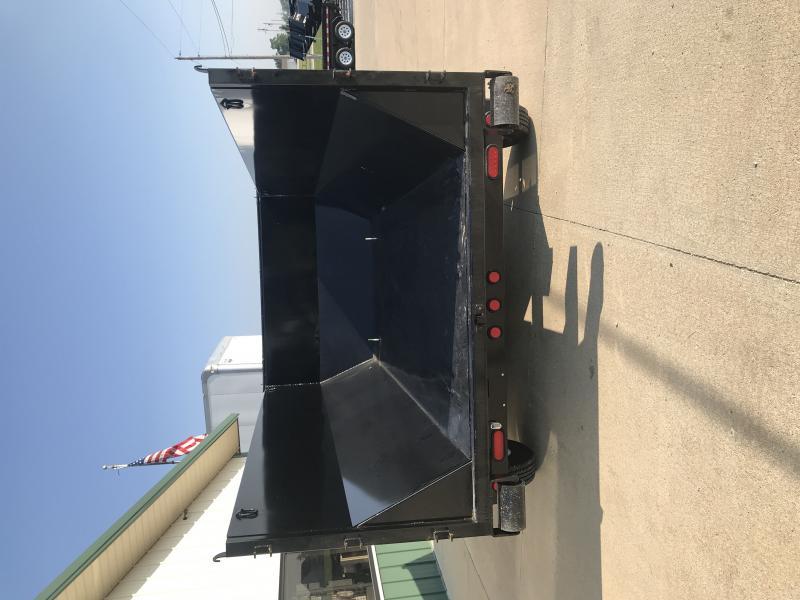 2019 Pj Trailers 14' Rollster Roll Off Dump