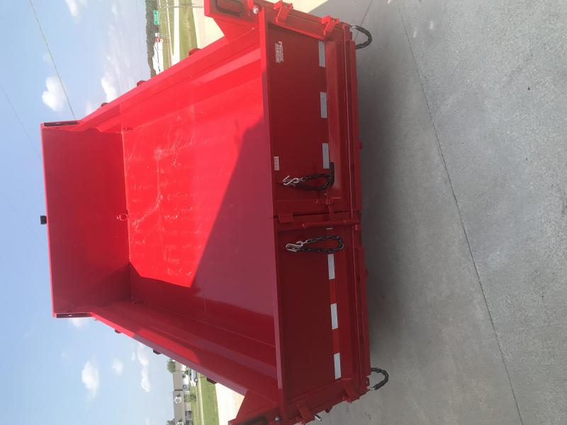 2018 Sure-trac 7 X 12 Tele Dump-red