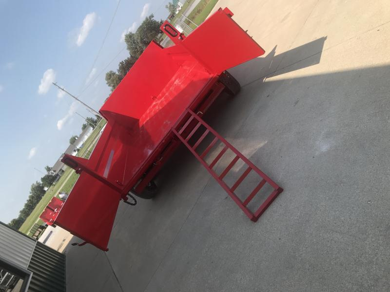 2018 Sure-trac 7x12 Tele Dump-red