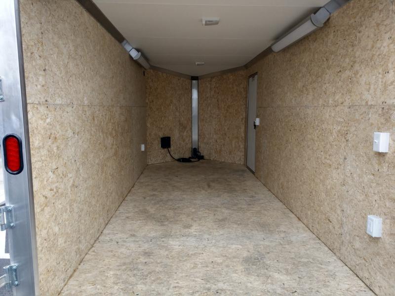 2019 Ez Hauler 7'x16' Alum. Contractor Enclosed
