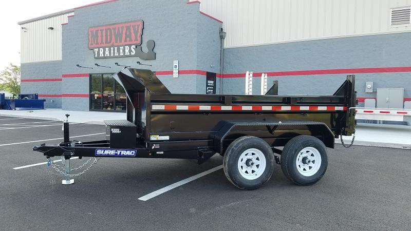 """2019 Sure-trac 72""""x10 Lowpro 10k Single Ram Dump"""