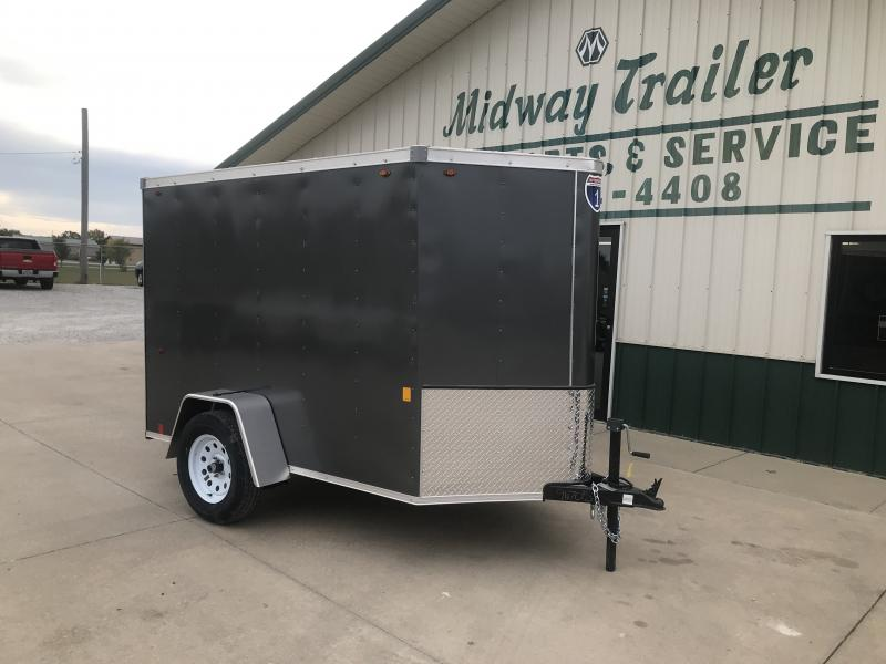 2019 Interstate 5 X 8 Charcoal Enclosed