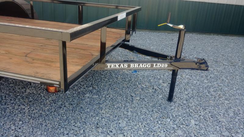 """2018 Texas Bragg 77"""" X 12' Utility"""
