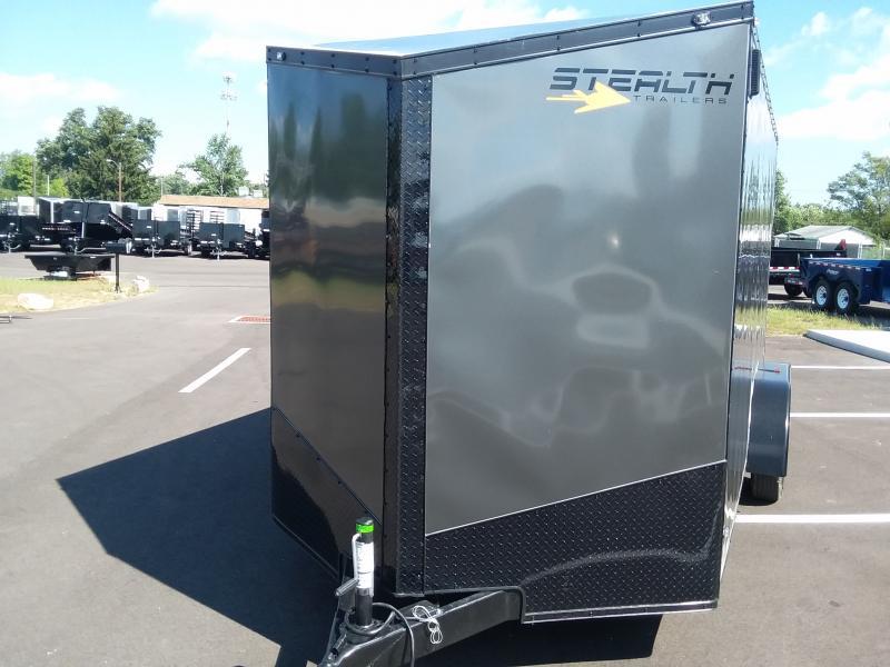 2020 Stealth 7x16 Titan 7k Metallic Charcoal + 6