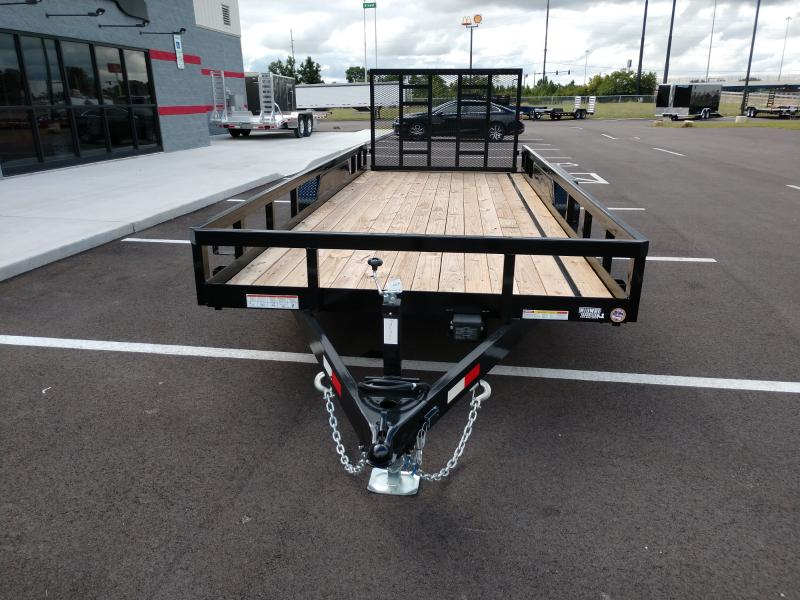 2018 Sure-trac 7' X 18' Tube Top Utility, 10k Tandem