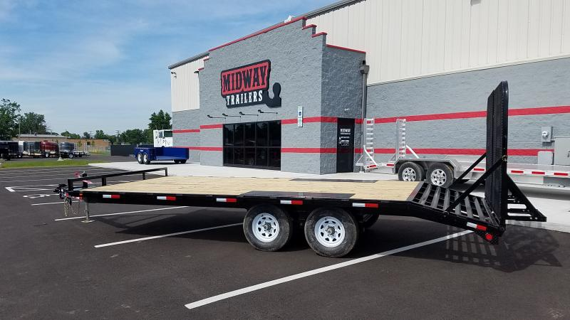 2019 Pj Trailers 8.5'x17'+3' 10k Bp