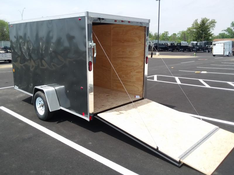 2019 Interstate 6' X 12' Enclosed Charcoal