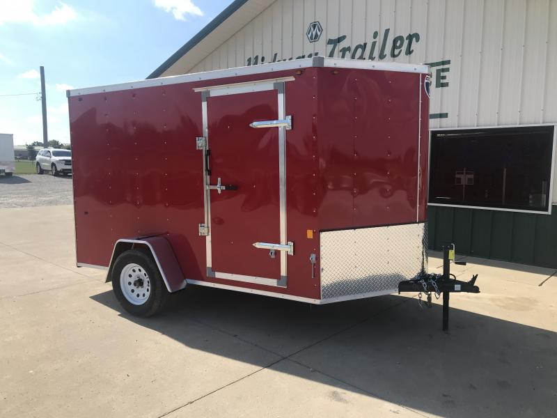 2019 Interstate 6 X 10 Red Enclosed