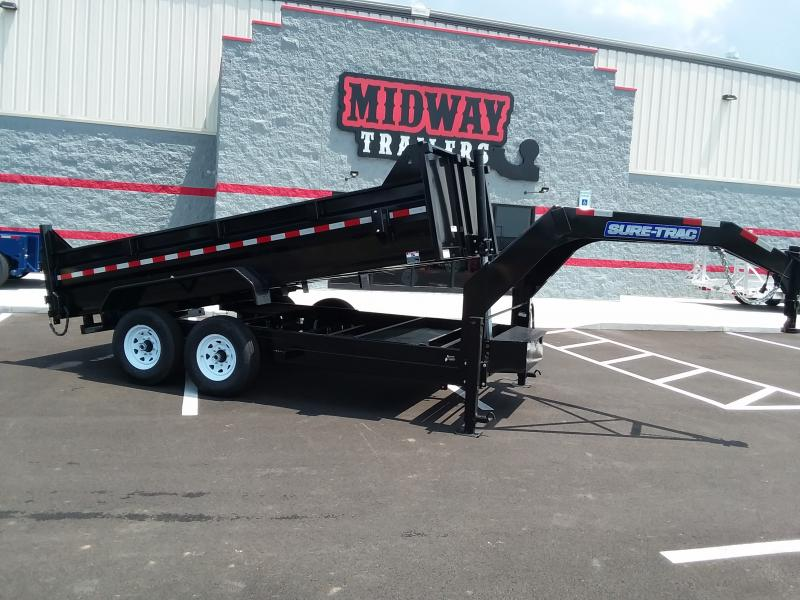 "2019 Sure-trac 82""x14' Low Pro Goose Telescopic 14k"