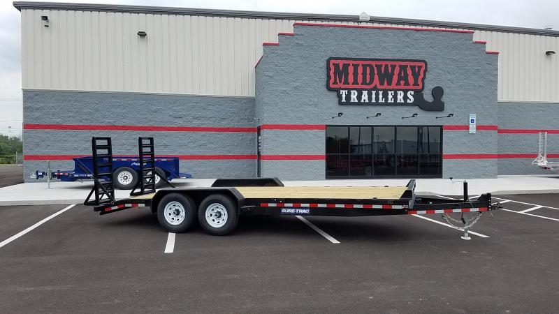2019 Sure-trac 7'x20' Implement Full Ramps 14k