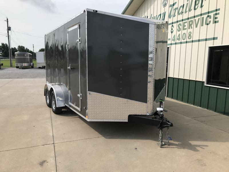 2019 Stealth 7 X 14 Charcoal Enclosed 7k