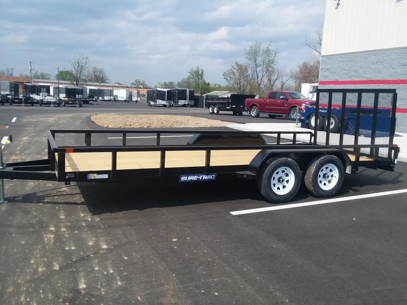 2019 Sure-trac 7'x18' Tube Top 7k