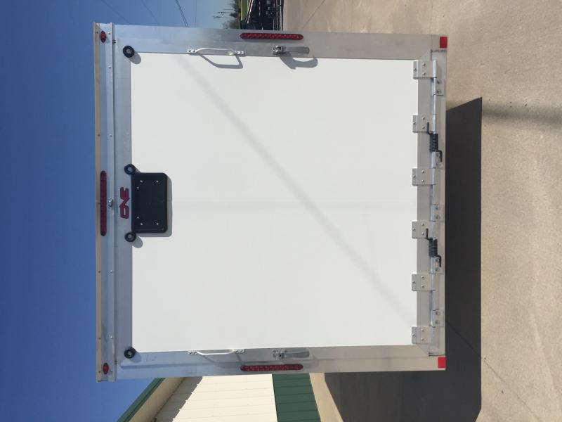 2018 One Trailers 7 X 16 White One Enclosed