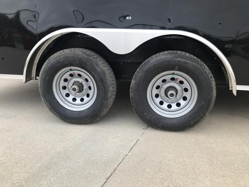 2019 Interstate 7 X 16 10k Ifc Black Enclosed