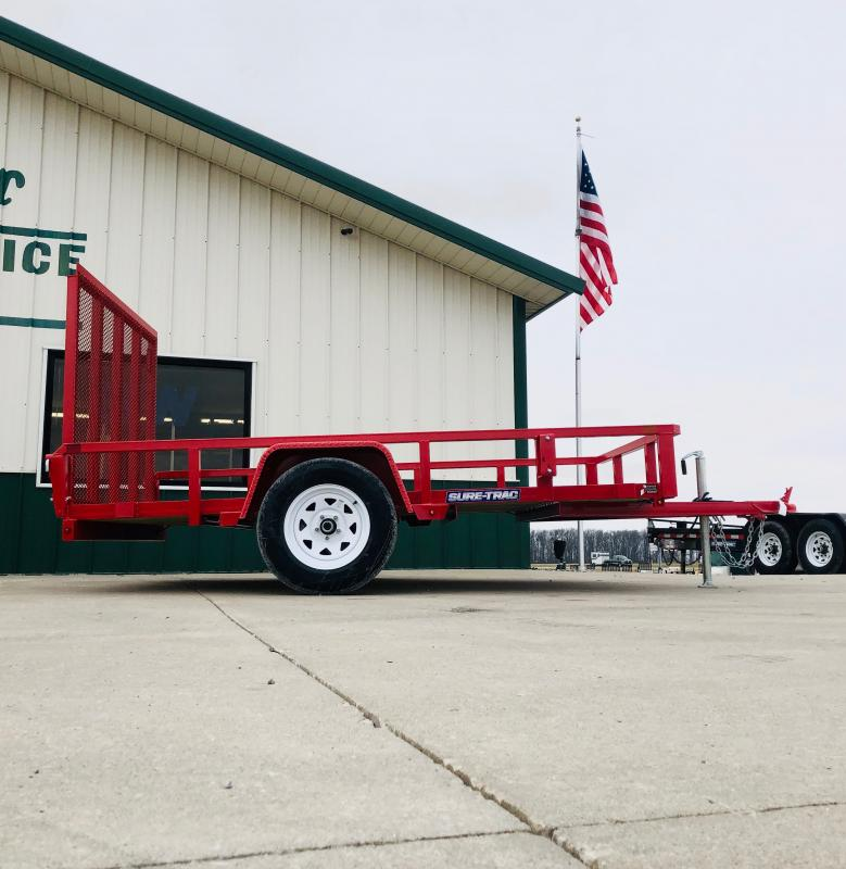2019 Sure-trac 6x10 Tube Top 3k Red