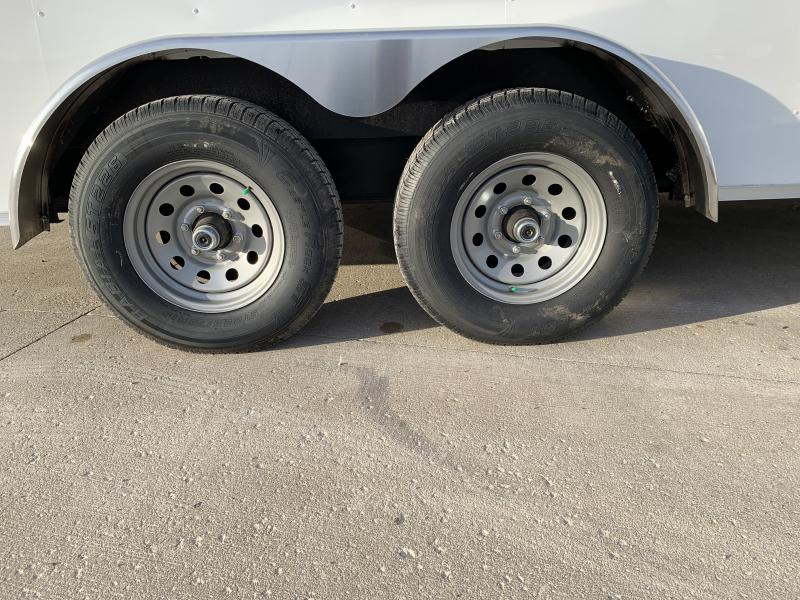 2019 Interstate 7x16 Ifc 10k White
