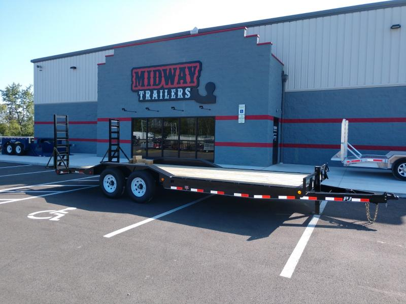 2019 Pj Trailers 8.5'x22' Superwide Equip. 14k