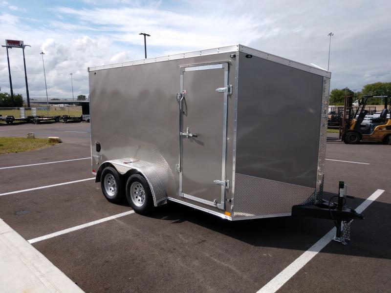 """2019 Stealth 7'x12'+6"""" Pewter"""