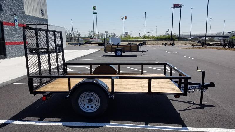 """2018 Texas Bragg 77""""x10' Utility"""