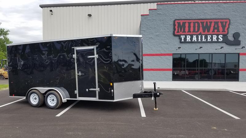 2018 Interstate 7' X 16' Enclosed