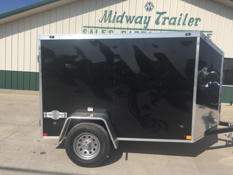 2019 Stealth 6x12 Mustang 3k Black