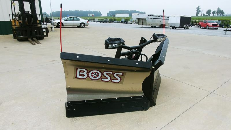 "2018 Boss 8'2"" Dxt Plow Stainless"