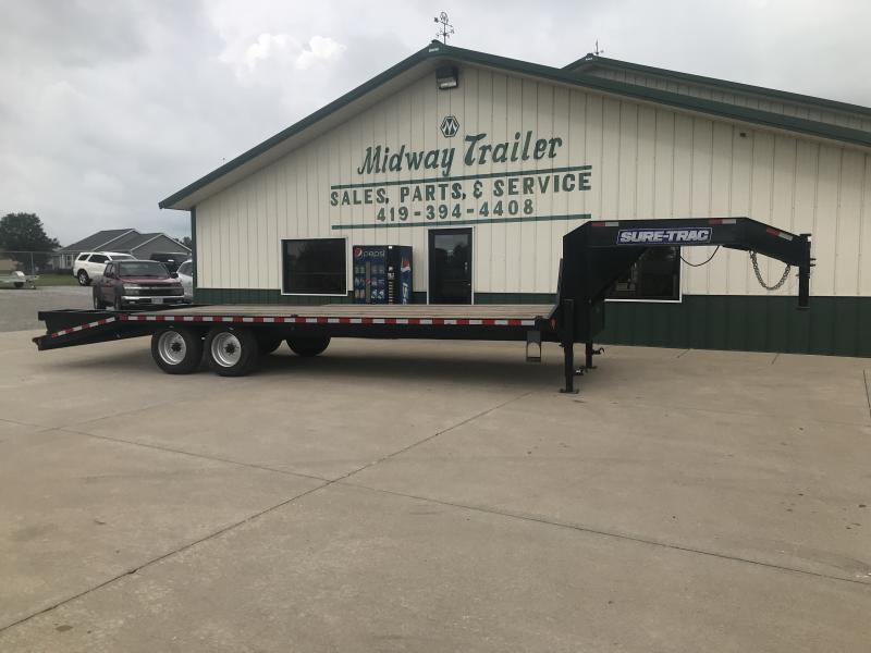 2018 Sure-trac 8.5'x20'+5' Gn Deckover 17.6k