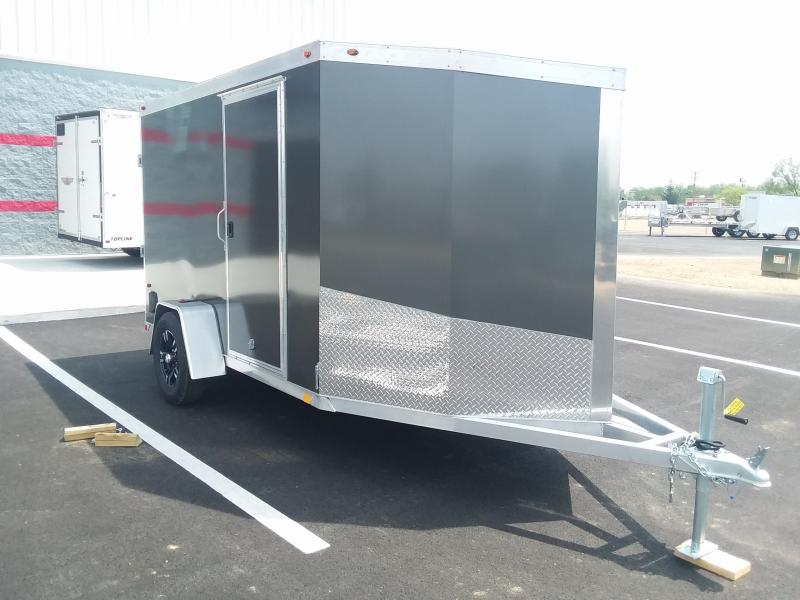 2018 One Trailers 6'x10'+4' Alum. Char. 3k