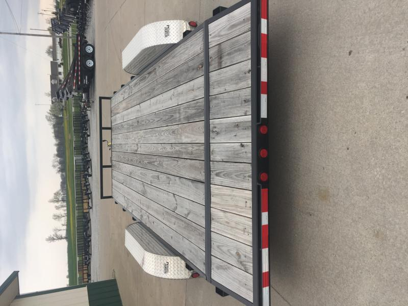 2019 Pj Trailers 7 X 18 Wood Deck 7k