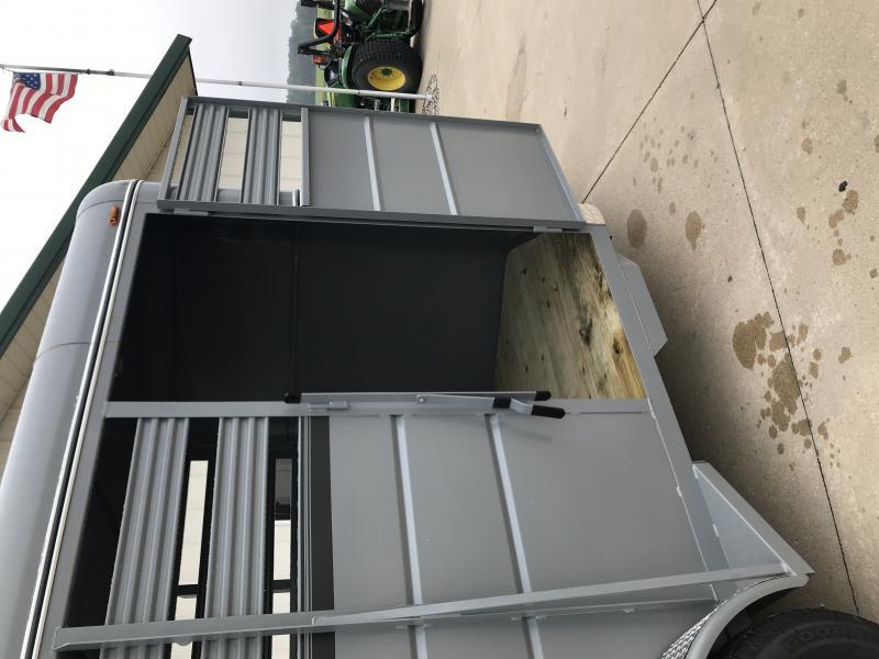 2019 Valley 6x16 Livestock 7k Silver