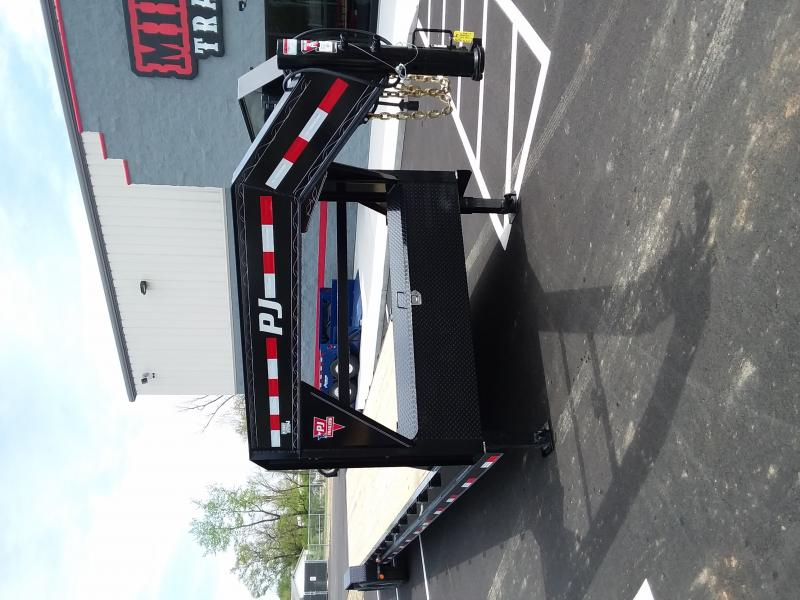 2019 Pj Trailers 7'x36' Gn Equipment 16k