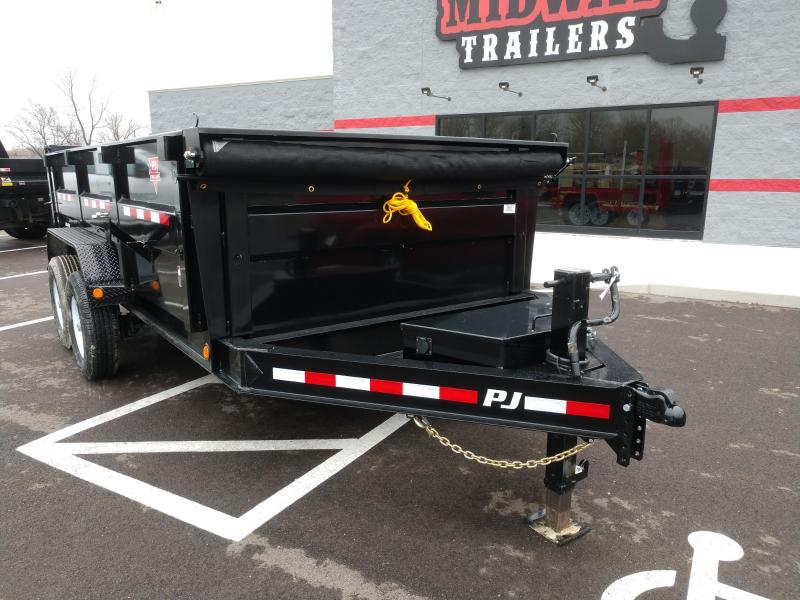 """2019 Pj Trailers 83""""x14' Lowpro 3' High Side Dump 14k"""