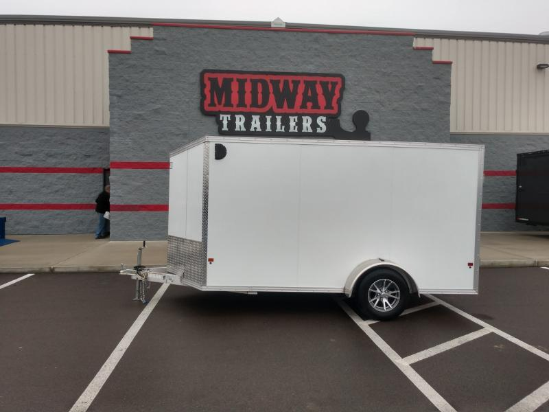 2019 Ez Hauler 6'x12' Alum. Enclosed 3k