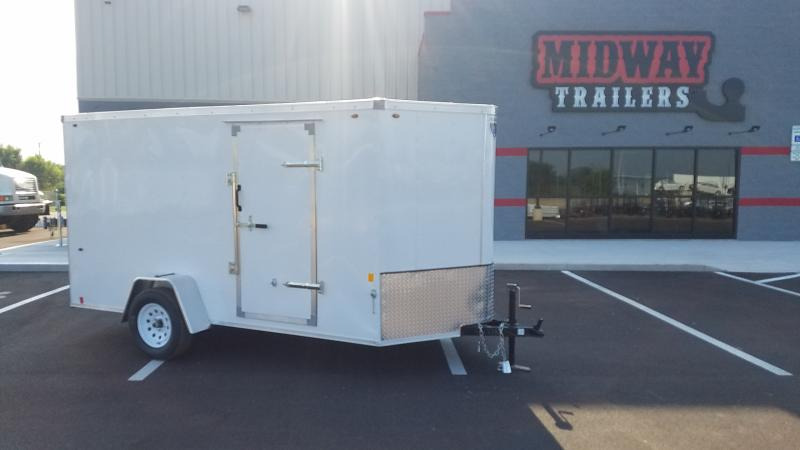 2020 Interstate 6' X 12' Enclosed White
