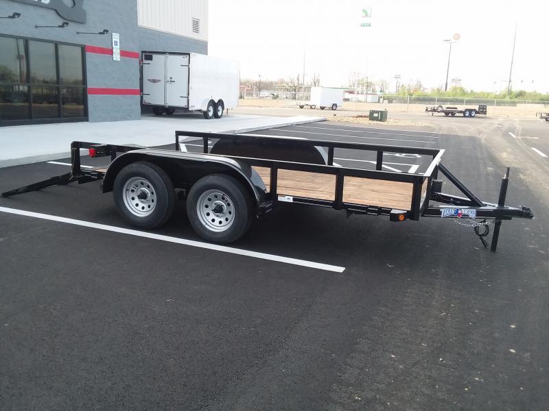 "2018 Texas Bragg 77""x12' Utility 7k"
