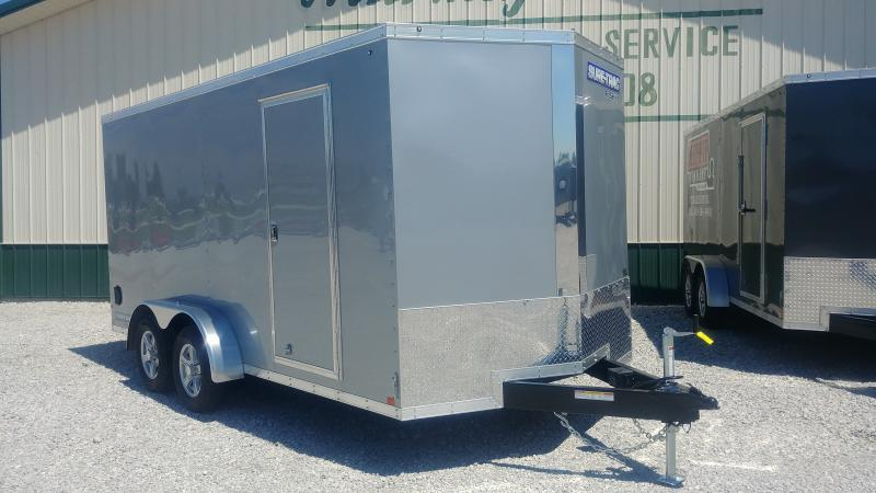 2018 Sure-trac 7'x16' Enclosed Silver