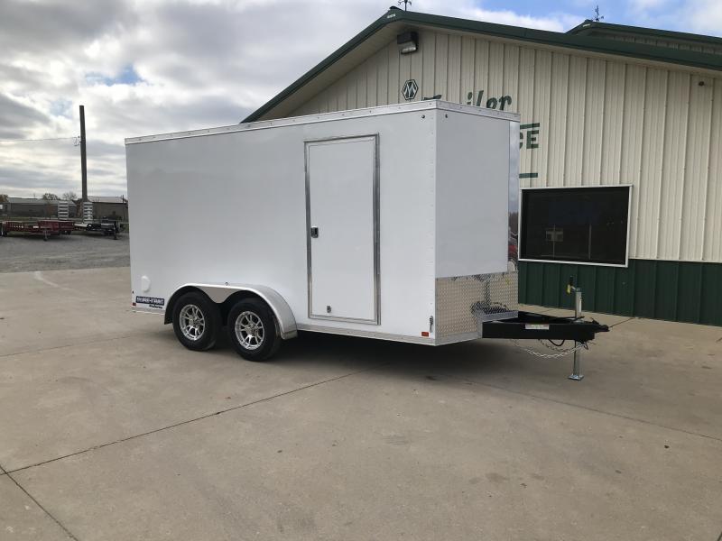 2019 Sure-trac 7 X 14 White 7k Enclosed