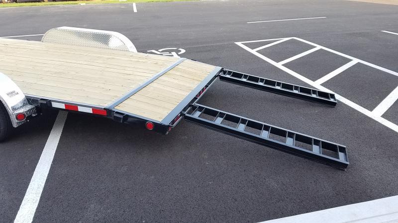 2019 Pj Trailers 7'x20' Wood Deck 7k