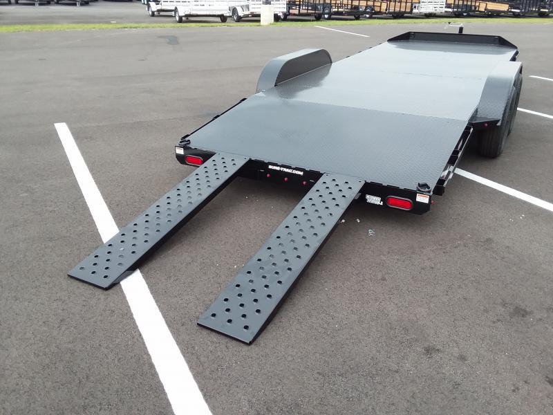 2019 Sure-trac 7'x20' Steel Deck 10k