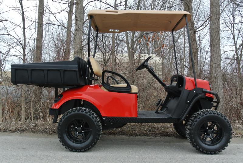 2017 BAD BOY BUGGIES LTO GAS RED Utility Golf Cart Side by Side #1844
