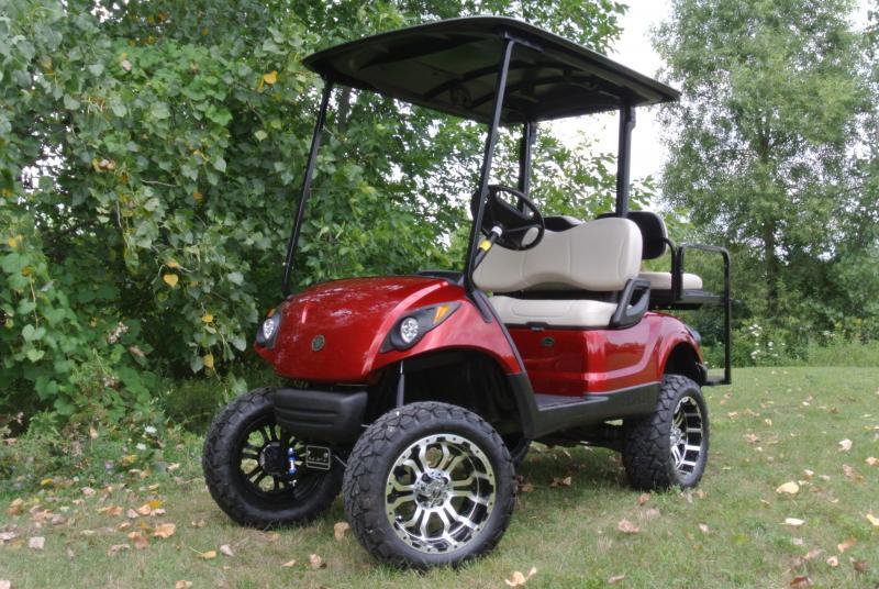 2013 Yamaha Drive GAS Golf Cart w/ Extras Low Hours Runs Strong!  #5715