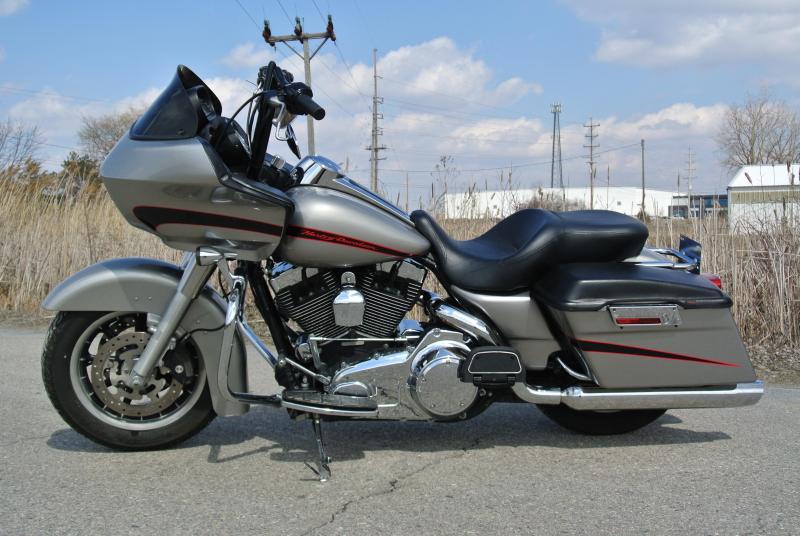 2008 HARLEY-DAVIDSON FLTR ROAD GLIDE MOTORCYCLE #8401