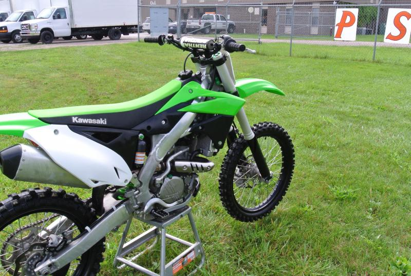 2016 Kawasaki KX 250F 4 Stroke Motorcycle #8052