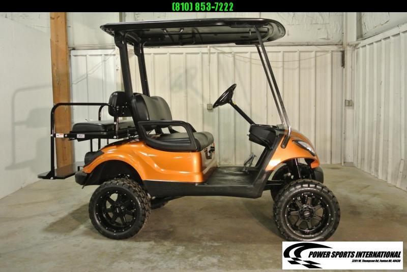 2011 Custom Yamaha Drive GAS POWERED Golf Cart #4144