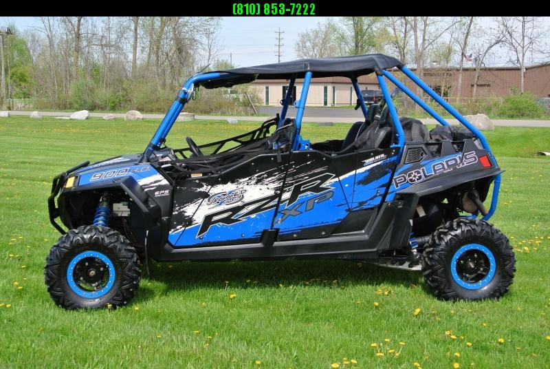 2013 POLARIS RZR 4 900 HO EPS STREET LEGAL SXS (ELECTRIC POWER STEERING)